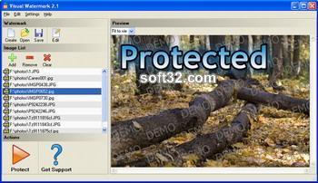 Visual Watermark Software - Photo Watermarking Software Screenshot 2