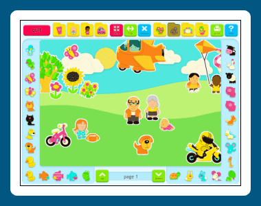 Sticker Book Screenshot