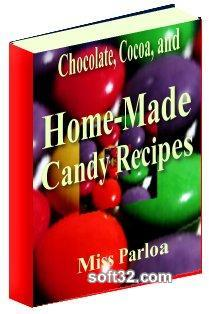 Chocolate and Cocoa Recipes and Home Made Candies Screenshot