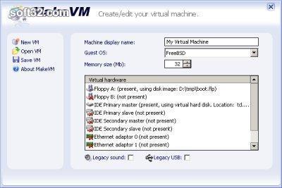 MakeVM Screenshot 2