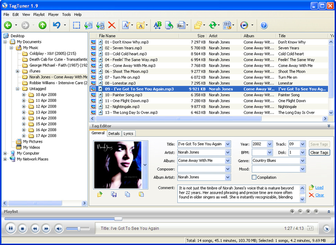 TagTuner Screenshot