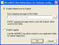 HiddenSave for Outlook 1