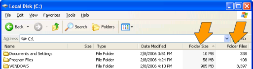 FolderInfo Extension for Windows Explorer Screenshot 1