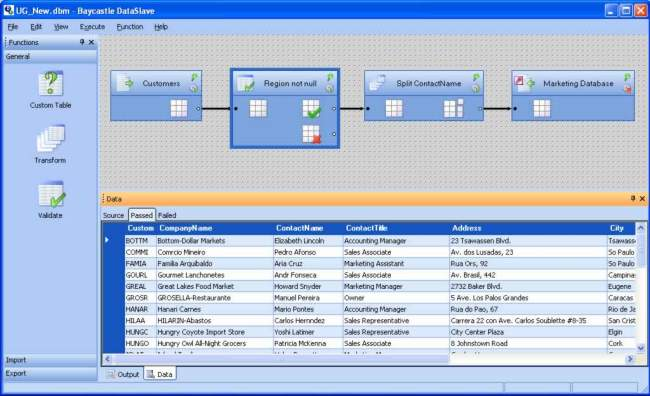 DataSlave Screenshot