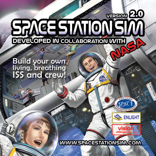 SpaceStationSim Screenshot