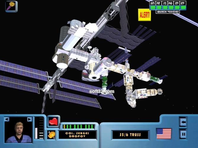 SpaceStationSim Screenshot 2
