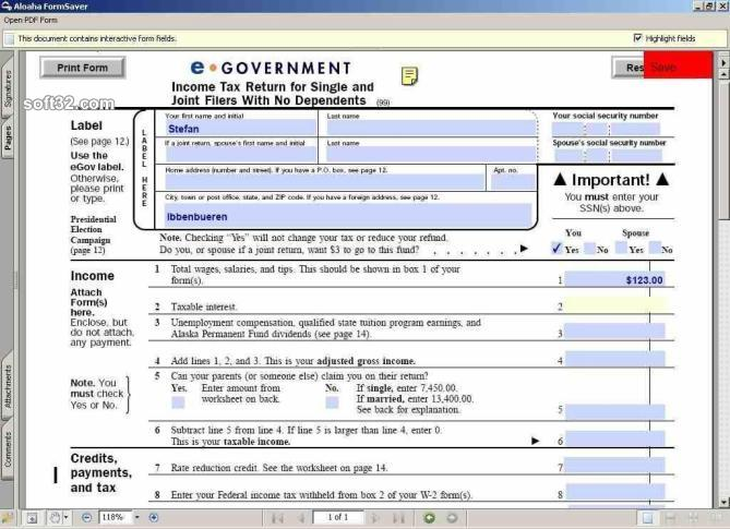 Aloaha PDF Saver Screenshot 3