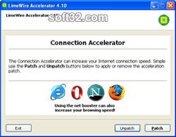 LimeWire Accelerator Screenshot 3