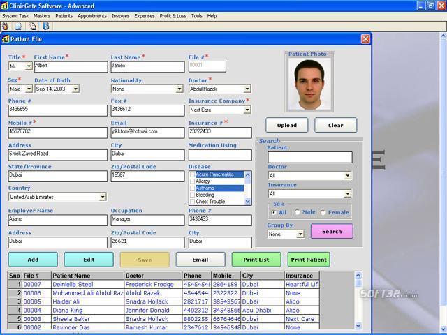 ClinicGate Basic Screenshot 2