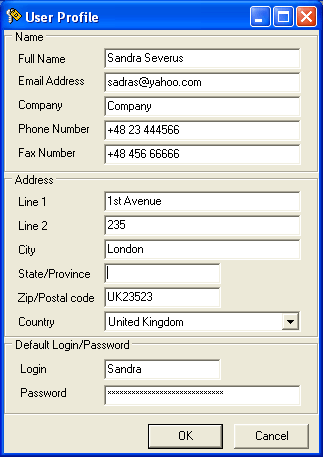 Dekart Password Carrier Screenshot