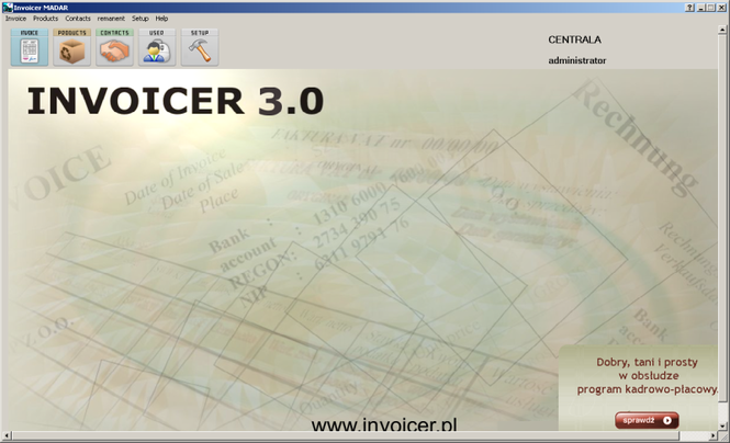 Invoicer Screenshot