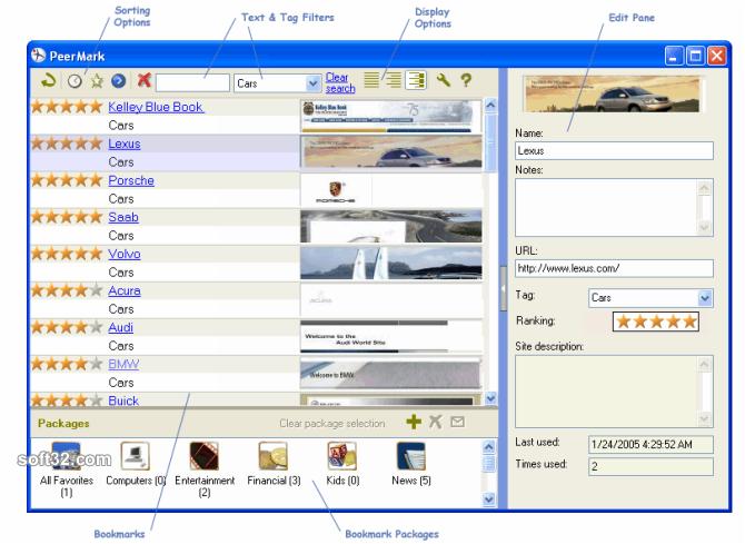 PeerMark Screenshot 2