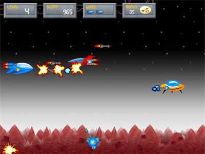Mars Rescue Screenshot
