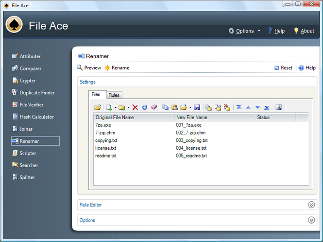 File Ace Screenshot