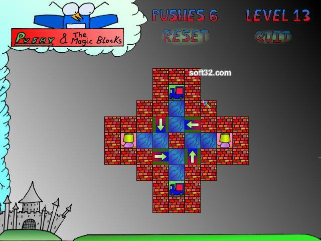 Pushy and the Magic Blocks Screenshot 1