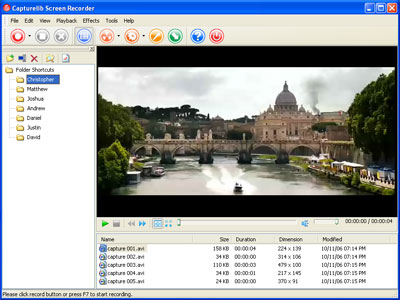 Capturelib Screen Recorder Screenshot