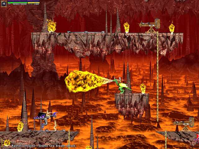 Atomic Battle Dragons Screenshot 1