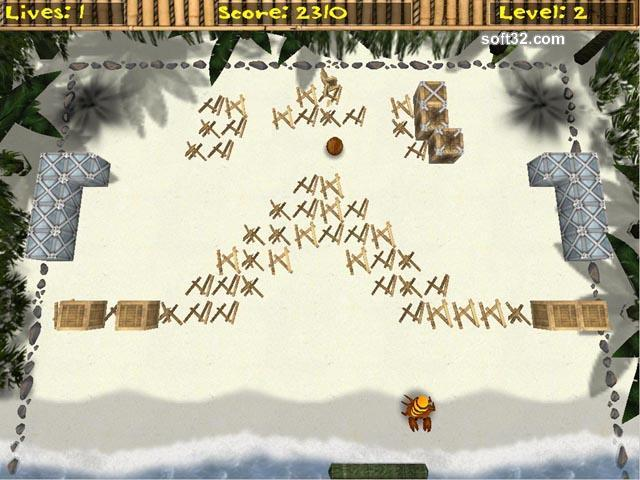 Tropic Ball Screenshot