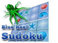 Blue Reef Sudoku Screenshot 1
