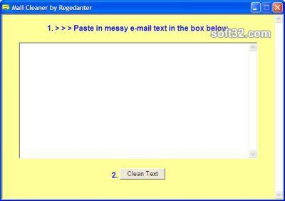 Mail Cleaner for Windows Screenshot 2
