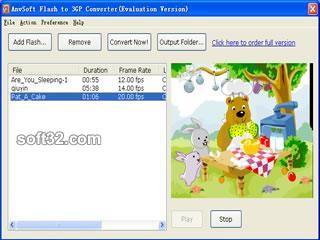 Flash to 3GP Converter Screenshot 2