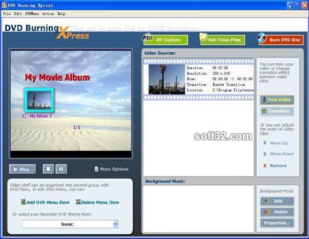 DVD Burning Xpress Screenshot 3