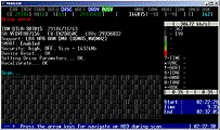 MHDD: Bootable CD image Screenshot