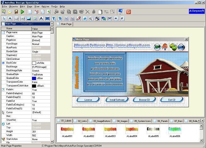 AutoRun Design Specialty Screenshot 3