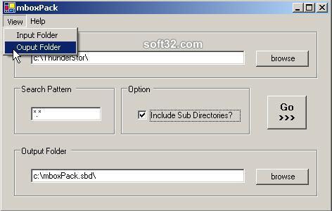 mboxPack Screenshot 3