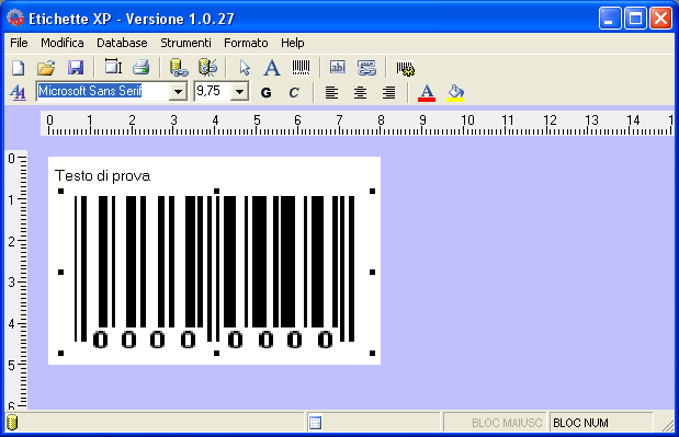 etichettexp Screenshot 1