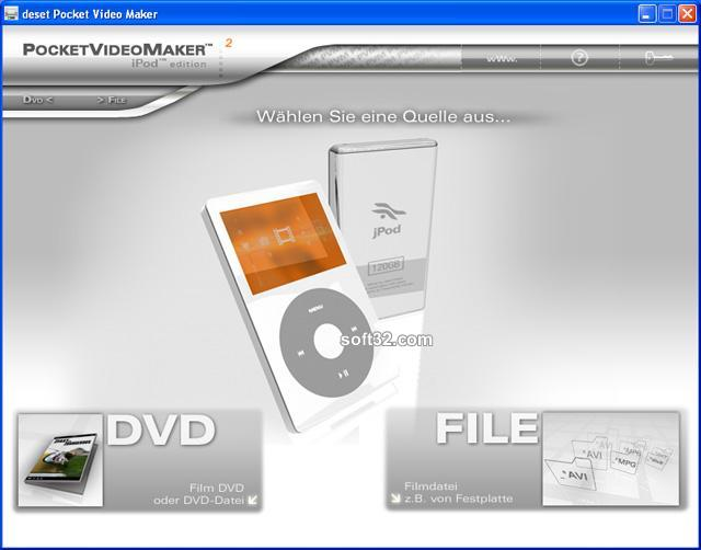 deset Pocket Video Maker - Ipod Edition Screenshot