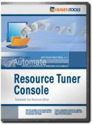 Resource Tuner Console Screenshot