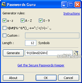 Password Guru Screenshot 3