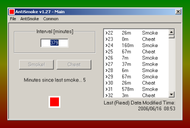 AntiSmoke Screenshot