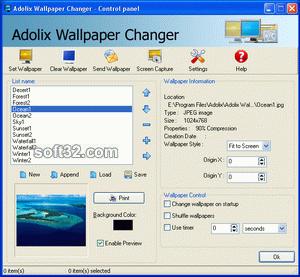 Adolix Wallpaper Changer Screenshot 3