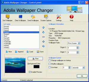 Adolix Wallpaper Changer Screenshot 1