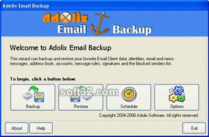 Adolix Email Backup Screenshot 3