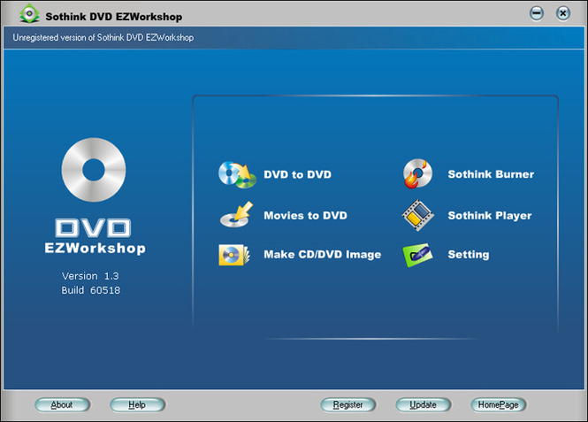Sothink DVD EZWorkshop Screenshot