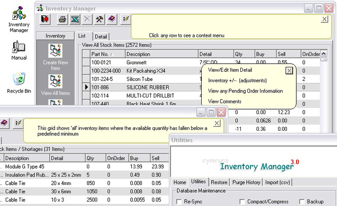 Inventory Manager Screenshot 1
