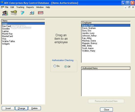 Key Control Screenshot 1
