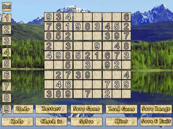 Pure Sudoku Deluxe Screenshot