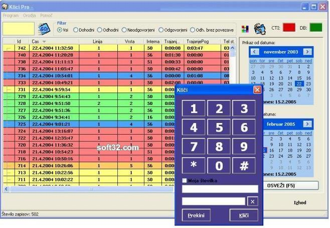 Calls Professional Suite Screenshot 2