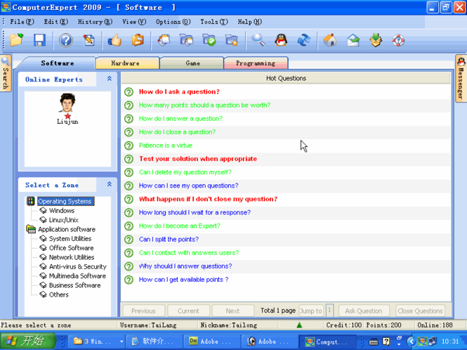 ComputerExpert 2009 Screenshot 1