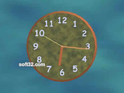 Active Clock ScreenSaver Screenshot 3