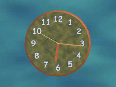 Active Clock ScreenSaver Screenshot 1
