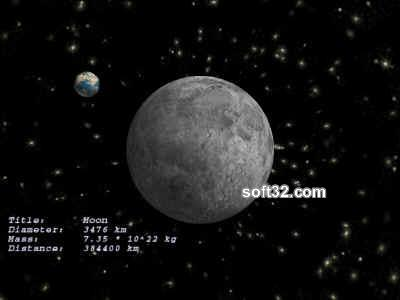 Moon 3D ScreenSaver Screenshot 1
