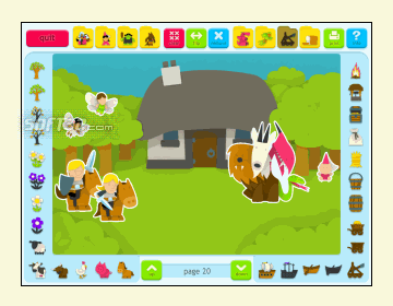 Sticker Book 2: Fantasy World Screenshot 3