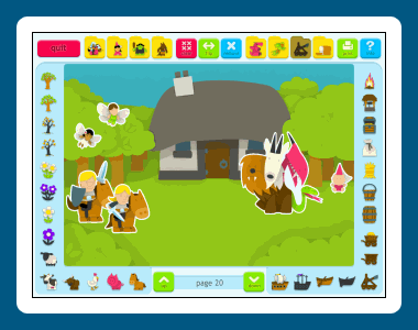 Sticker Book 2: Fantasy World Screenshot