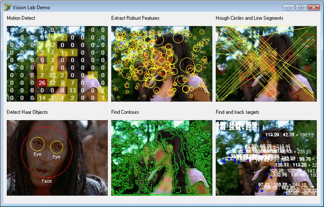 VisionLab VC++ Screenshot 1
