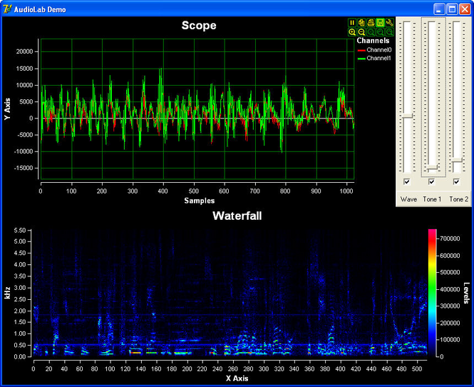 AudioLab VC++ Screenshot 1